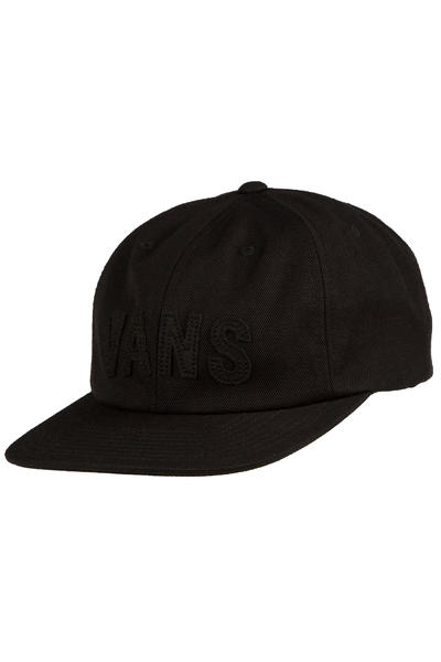 Vans Tag Unstructured Strapback Cap (black)
