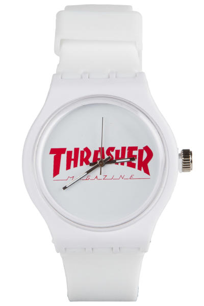Thrasher Magazine Watch (white)