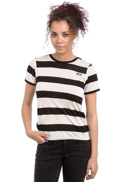 Vans Skate Patch T-Shirt - white sand black - Damen