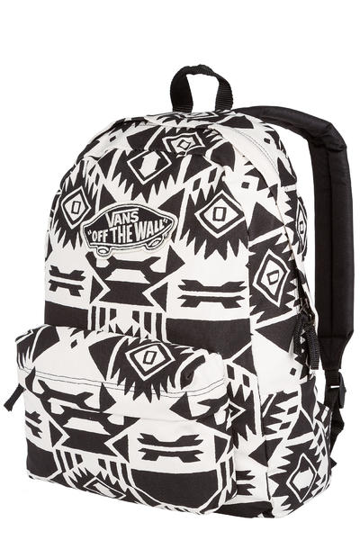 Vans Realm Backpack 22L women (white sand black)