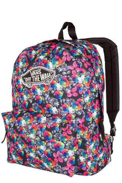 Vans Realm Backpack 22L women (rainbow floral)