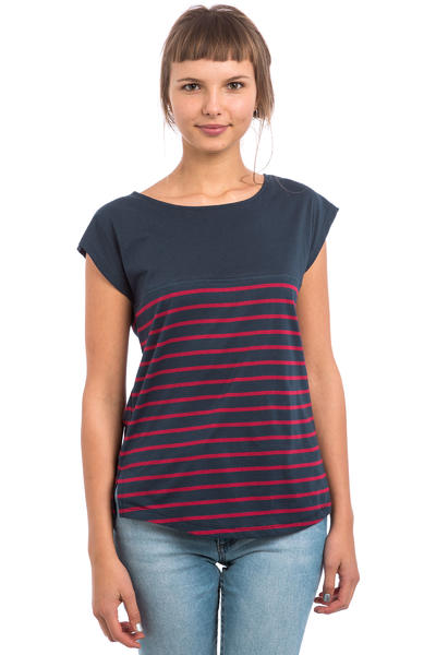 Forvert Newport T-Shirt women (navy red)