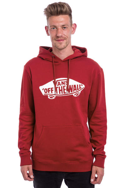 Vans OTW Hoodie (red dahlia bright white)