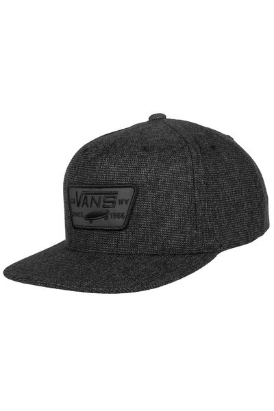 Vans Full Patch Snapback Cap (concrete black)
