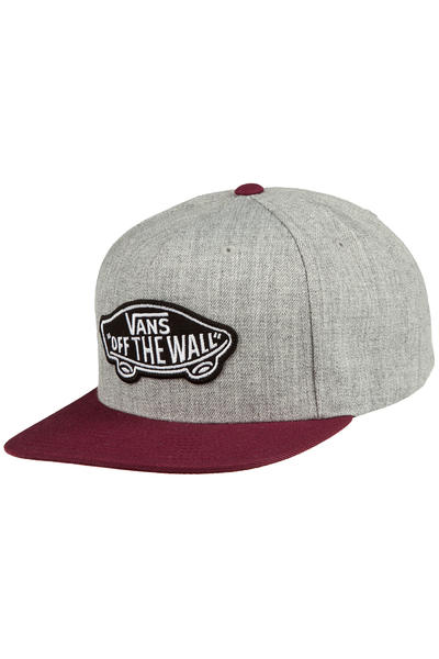 Vans Classic Patch Snapback Cap (heather grey port royale)