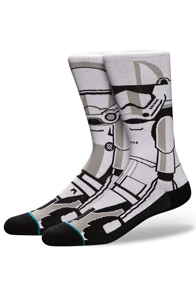Stance x Star Wars Trooper 2 Calcetines US 6-12 (white)