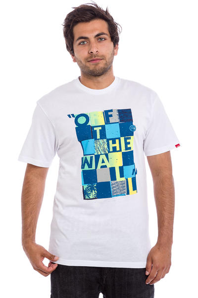 Vans Checker Blaster II T-Shirt (white seaport)