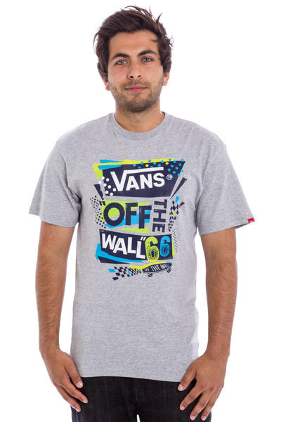 Vans Stenciled II Fall 16 T-Shirt (athletic heather)