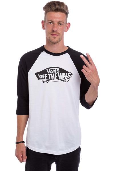 Vans OTW Raglan Longsleeve (white black black)