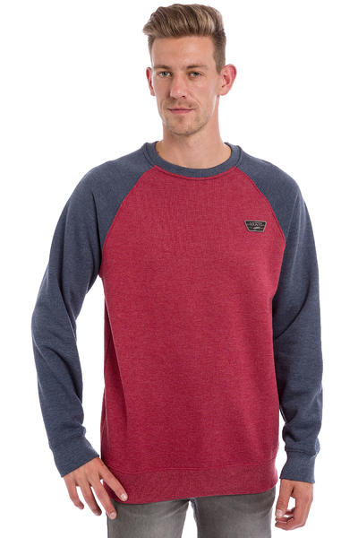 Vans Rutland Sweatshirt (red dahlia heather dress blues h)