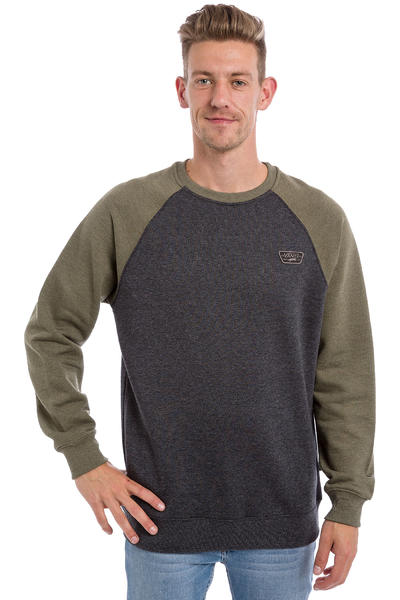 Vans Rutland Sweatshirt (black heather grape leaf heather)