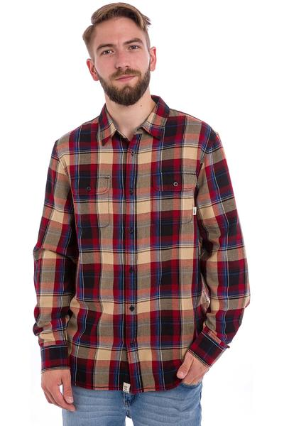 Vans Elm Shirt (red dahlia black)