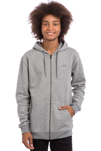 Vans Core Basics IV Zip-Hoodie (concrete heather)