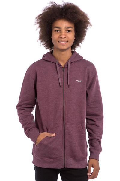 Vans Core Basics IV Zip-Hoodie (port royale heather)