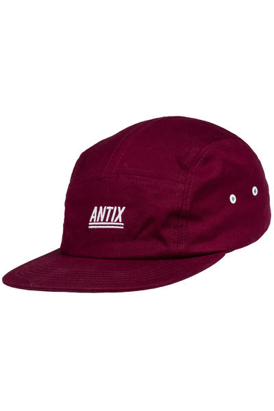 Antix Futura 5 Panel Cap (bordeaux)