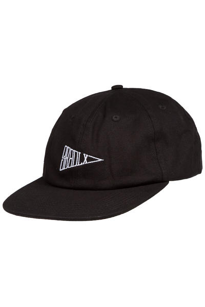 SK8DLX Flag 6 Panel Unconstructed Cap (black)