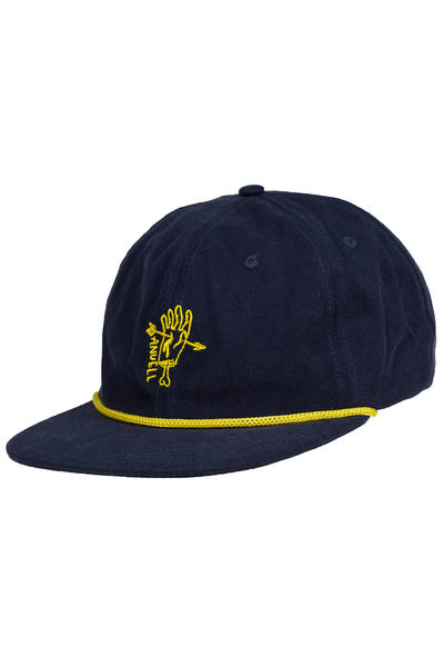 Anuell Dustam 6 Panel Casquette (navy gold)