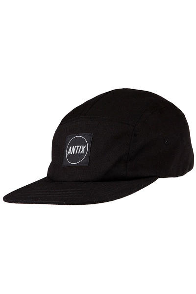 Antix Versa 5 Panel Cap (all black)