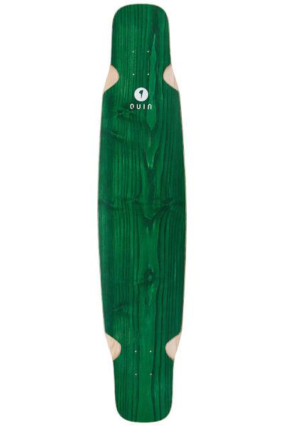 """quinboards Dancing Green 46.46"""" (118cm) Longboard Deck 2016 (green)"""