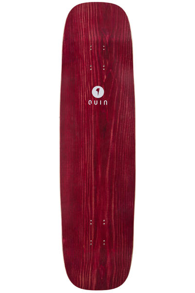 "quinboards Slideberry 37"" (94cm) Longboard Deck (red)"