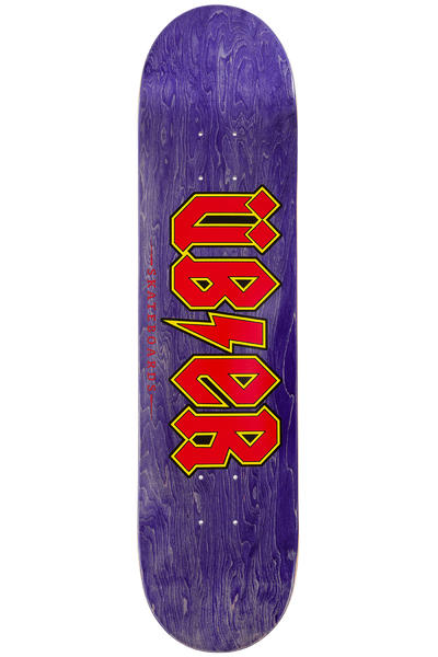 "Über Skateboards Reality Bites 7.625"" Deck (purple red)"