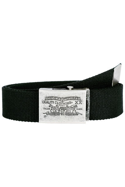 Levi's Two Horse Pull Plaque Ceinture (regular black)