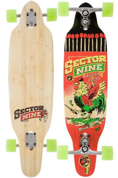 "Sector 9 Striker 36.5"" (92,7cm) Complete-Longboard 2016 (red)"
