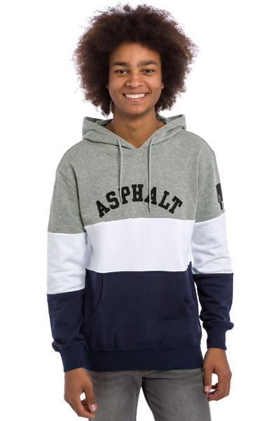Asphalt Yacht Club Triblock Hoodie (heather)