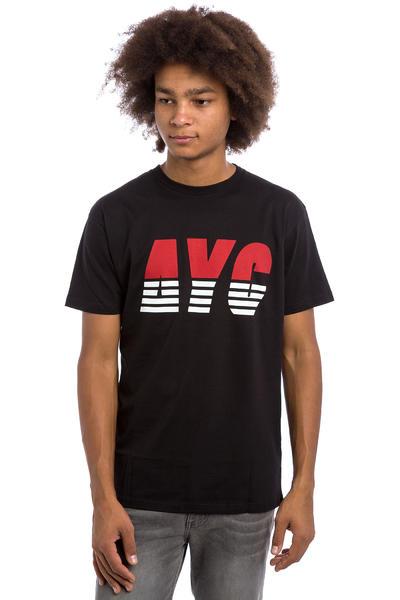 Asphalt Yacht Club Athletic Stripe T-Shirt (black)