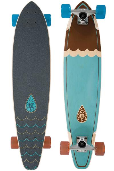 "Sector 9 Highline 34.5"" (87,6cm) Complete-Longboard 2016 (blue)"