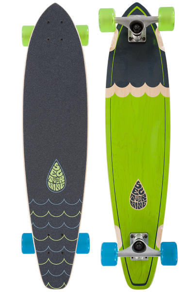 "Sector 9 Highline 34.5"" (87,6cm) Complete-Longboard 2016 (green)"