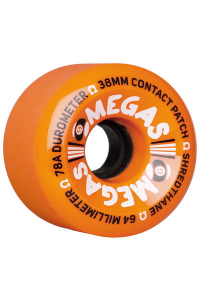 Sector 9 Omegas 64mm 78A OS Rollen (orange) 4er Pack