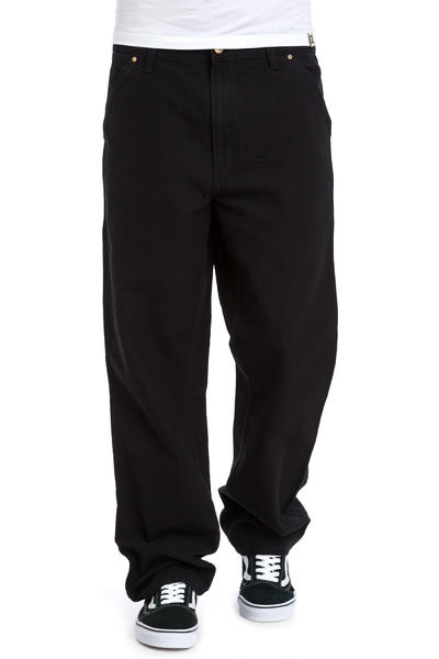Carhartt WIP Single Knee Pant Turner Hose (black rinsed)