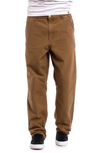 Carhartt WIP Single Knee Pant Turner Hose (hamilton brown rinsed)
