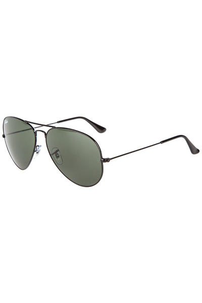 Ray-Ban Aviator Large Metal Sunglasses 62mm (black)