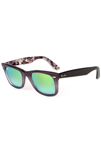 Ray-Ban Original Wayfarer Floral Sunglasses 50mm (top light grey grad on grey)