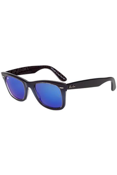 Ray-Ban Original Wayfarer Sonnenbrille 50mm (top blue grad on light blue)