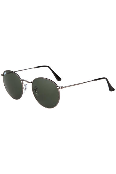 Ray-Ban Round Metal Sunglasses 50mm (matte gunmetal)