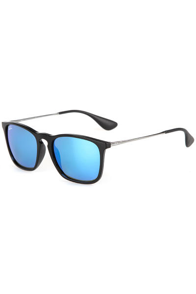 Ray-Ban Chris Sonnenbrille 54mm (black blue)