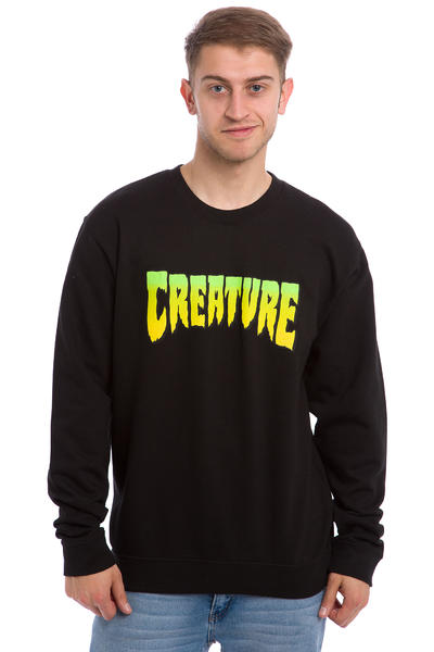 Creature Logo Sweatshirt (black)