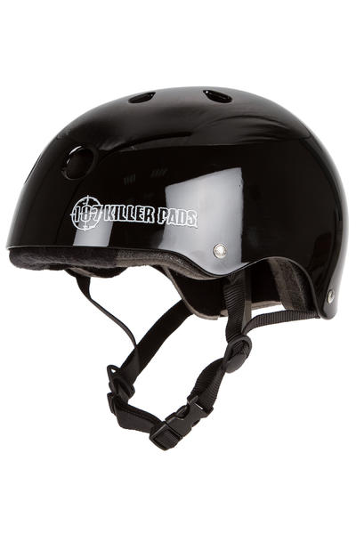 187 Killer Pads Pro Skate Helmet (gloss black)