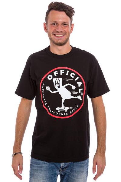 Official Crown of Laurel #Yungcali Skate T-Shirt (black)
