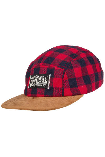 Official Crown of Laurel Buffalo Camp 5 Panel Cap (red)