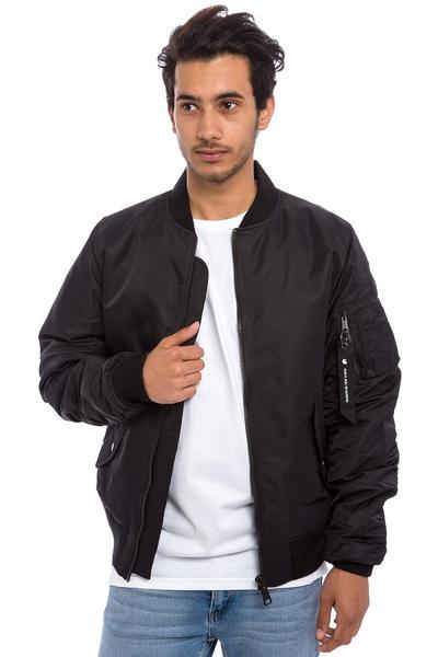 Carhartt WIP Ashton Bomber Jacket (black black)