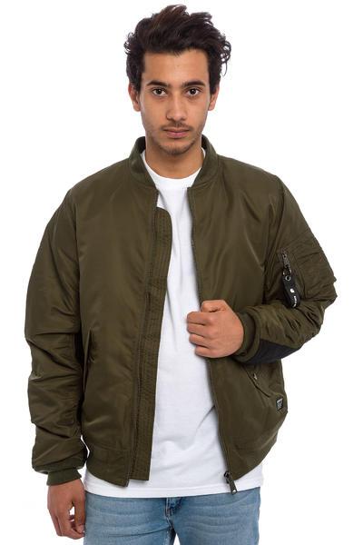Carhartt WIP Ashton Bomber Jacket (cypress black)