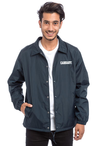 Carhartt WIP College Coach Jacket (navy white)