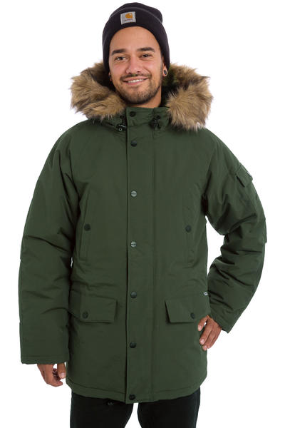 Carhartt WIP Anchorage Parka Jacket (laurel black)