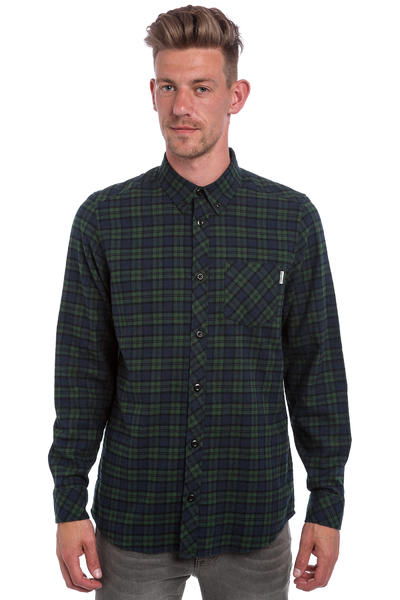 Carhartt WIP Shawn Camisa de franela (shawn check conifer rinsed)