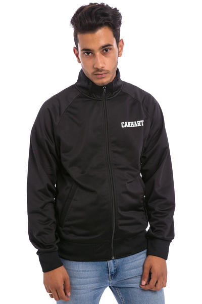 Carhartt WIP College Track Jacket (black white)