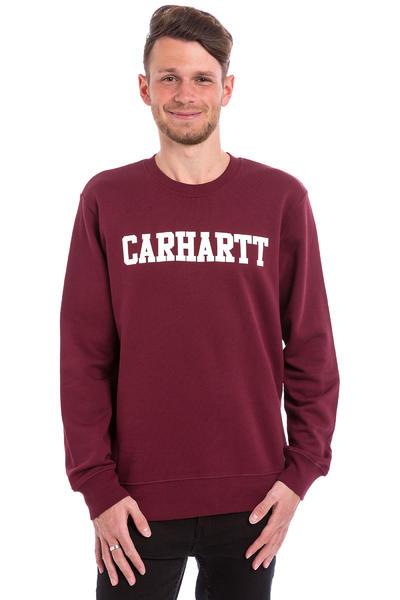 Carhartt WIP College Sweatshirt (chianti white)